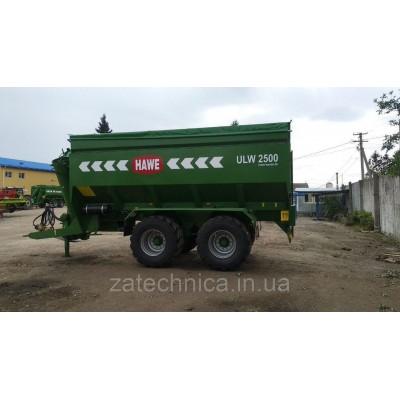 Причіп-перевантажувач зерна HAWE ULW 2500 T