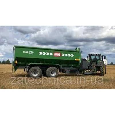Причіп-перевантажувач зерна HAWE ULW 3000 T