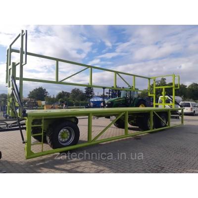 Причіп для перевезення тюків/соломи СONOW BTW V 9 24т